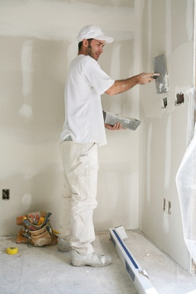 Drywall repair in Valley Center, CA by Rubio's Painting Services.